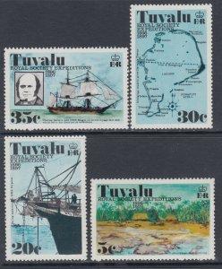 Tuvalu 54-57 MNH VF