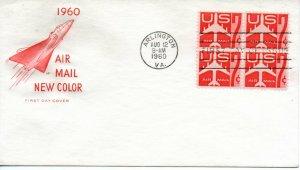 US FDC #C60 Jet Block, House Of Farnam (8523)