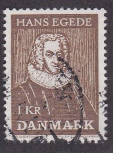 Denmark # 481, Hans Egede, Used, 1/2 Cat.