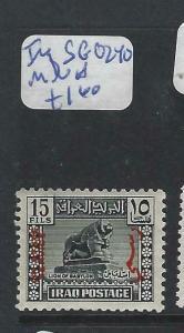 IRAQ   (P2803B)    OFFICIAL  SG 0240   MNH
