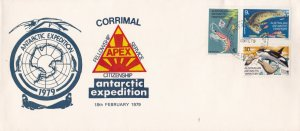 Australia Antarctic Territory 1979 APEX Service Antarctic Expedition Cover