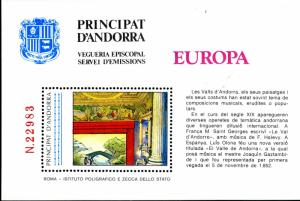 ANDORRA UNLISTED EUROPA  BIN $5.00