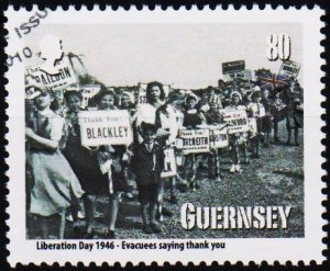 Guernsey. 2010 80p Fine Used