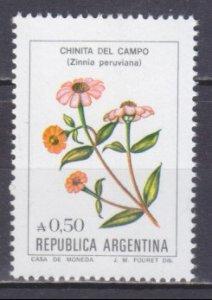 1985 Argentina 1756 Flowers 1,50 €