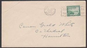BERMUDA 1948 ½d printed matter rate local cover - Hamilton slogan...........T105
