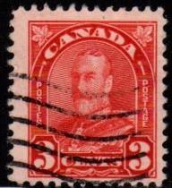 Canada - #167 King George V  - Used