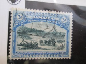 Jamaica #80 used wmkd. 3  2021 SCV = $2.75