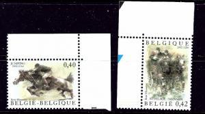 Belgium 1919-20 MNH 2002 Horse Racing
