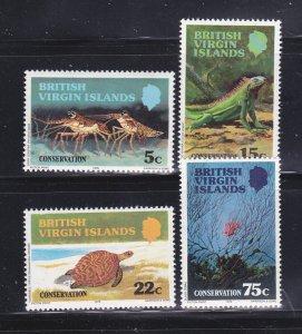 Virgin Islands 346-349 Set MNH Animals