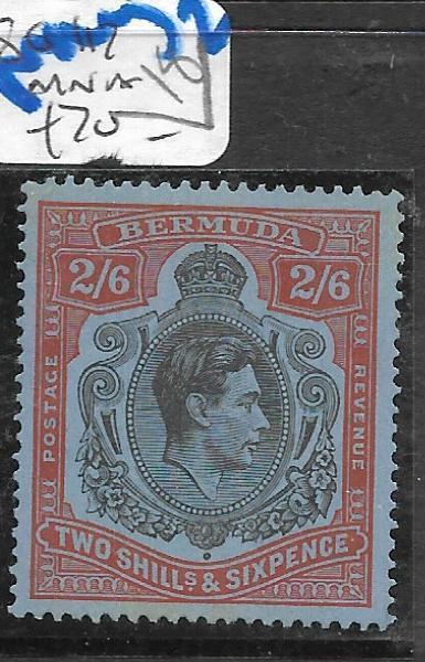 BERMUDA  (PP0710B) KGVI 2/6  SG 117  MNH