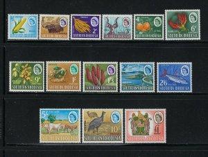 SOUTHERN  RHODESIA SCOTT #95-108 1964 QEII PICTORIALS - MINT LH/TOP VALUES NH