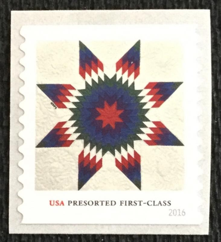 Us 5099 Mnh Coil Single Star Quilts Hipstamp