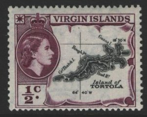 British Virgin Islands Sc#115 MNH