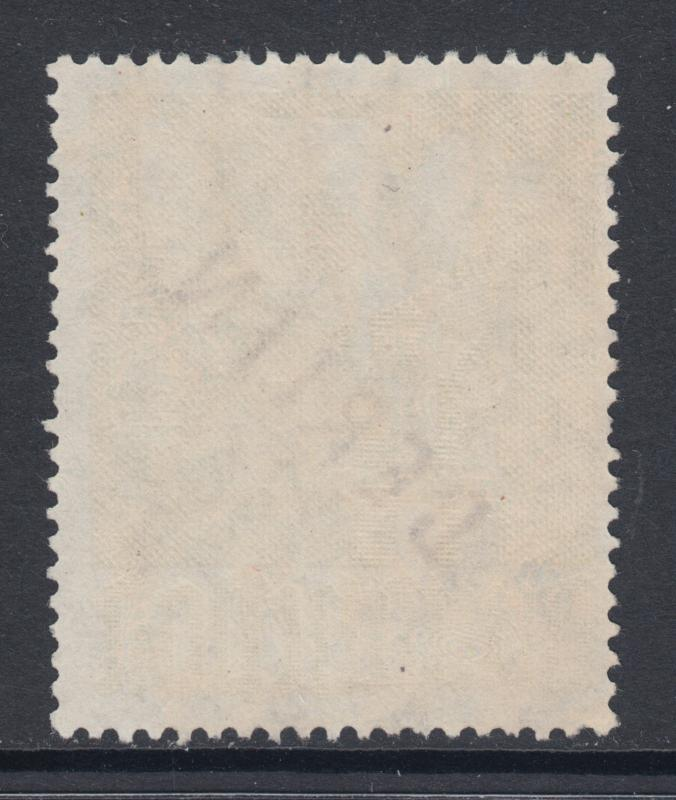 Germany, Berlin, Sc 9N17 used. 1948 1m olive Peace Dove with BERLIN ovpt