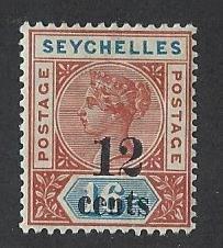 Seychelles die 1 mh S.C.#  23a