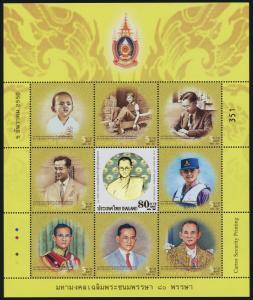Thailand 2334 MNH King Bhumibol Adulyadej, 80th Birthday