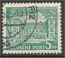 BERLIN, 1949, used 5pf  Schoeneberg Scott 9N44