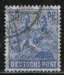 Germany AM Post Scott # 629, used