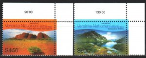 UN Vienna. 1999. 279-80. Landscapes, mountains. MNH.