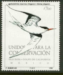 MEXICO 1658, United for Conservation, Seabird. MINT, NH. F-VF.