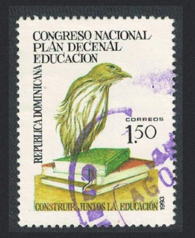 Dominican Rep. Ten Year Education Plan 1v Cancelled SG#1833