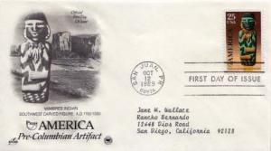United States, First Day Cover, Puerto Rico