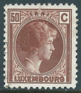 Luxembourg, Sc #170, 50c Used