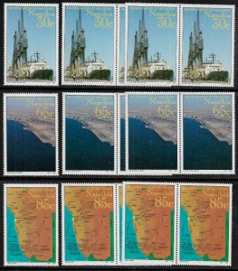 Namibia #759-61 MNH Set - Walvis Bay - Wholesale X 5