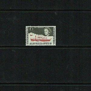 British Antarctic Territory:1963  £1 new design, SG15a  MNH