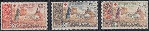 Laos B9-B11 MNH (1967)