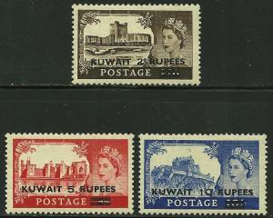 Kuwait # 117-19, Mint Hinge  =
