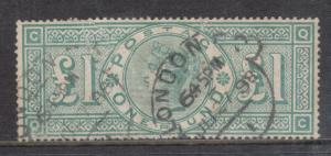 Great Britain #124 VF Used