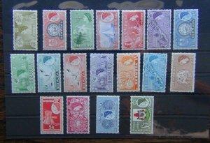 Bermuda 1953 - 1962 set to £1 MNH SG133 - SG150