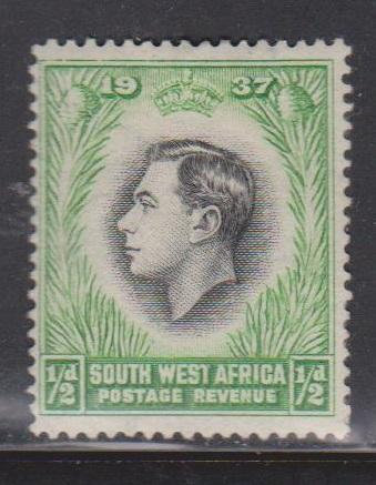 SOUTH WEST AFRICA Scott # 125a MH - KGVI Coronation