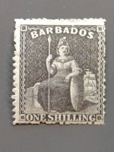 Barbados 21 F-VF MNG.  Scott $ 82.50