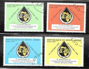 Benin 1997 SC# 1036-1039