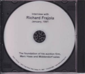 Interview with Richard Frajola - January 1991 - DVD