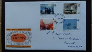 Great Britain 1975 The 200th Anniversary of the Birth of Turner FDC