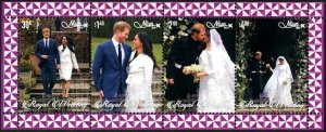 HERRICKSTAMP NEW ISSUES NIUE Sc.# 976a Prince Harry Wedding S/S