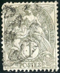 FRANCE #109 , USED - 1900 - FRAN139NS9