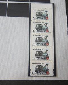Thailand 1990 Sc 1375 Train MNH