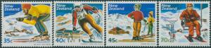 New Zealand 1984 SG1336-1339 Ski Fields set MLH