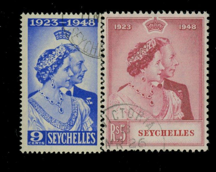 Seychelles #151-2 Used VF Cat$45.75