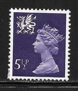 Great Britain Wales WMMH6 5 1/2p Machin MNH
