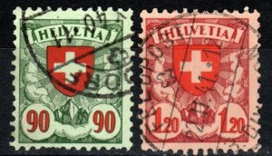 Switzerland #200-01  F-VF Used CV $11.15 (X1614)