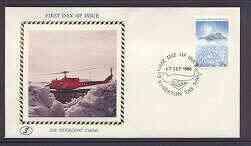 Australian Antarctic Territory 1986 illustrated cover (He...