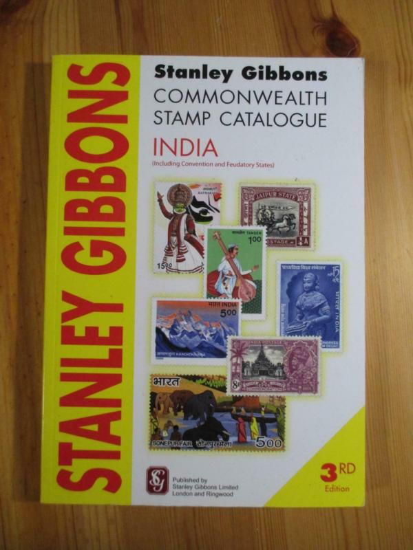VEGAS - 2009 3rd Edition - Stanley Gibbons India Stamp Catalogue - CV120
