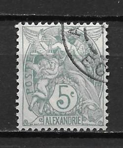 France Offices in Egypt - Alexandria 20 5c single Used