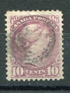 Canada #40a magenta  VF   Used   Lakeshore Philatelics