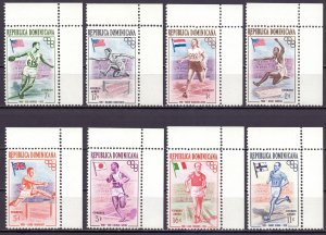Dominican Republic. 1957. 560A-67A. Summer olympic games. MNH.